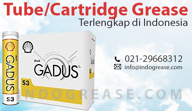 Grease Shell Gadus S3 V220 C 2 Tube Cartridge Indonesia